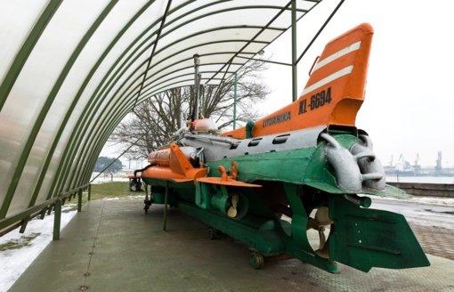 Lietuvos jūrų muziejuje eksponuojamas pirmasis šalyje sukonstruotas povandeninis laivas