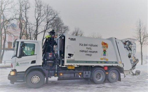 Lazdijų savivaldybės teritorijoje keičiasi atliekų vežėjas