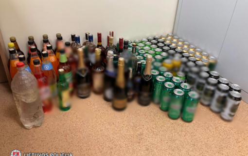 Šilalės rajone vyras neteisėtai pardavinėjo alkoholinius gėrimus