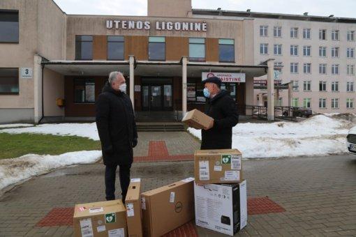 Utenos ligoninei – gyvybes gelbstinti dovana