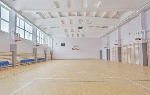 Sugrįžtančių mokinių laukia atnaujinta sporto salė