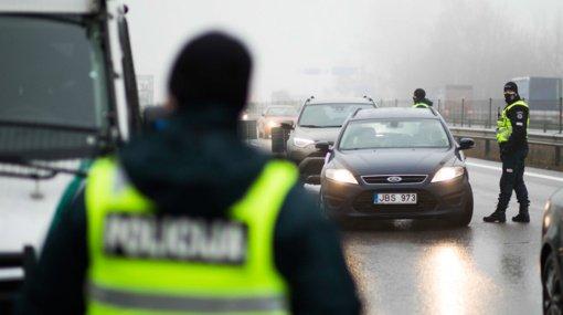 Klaipėdos apskrities patikros postuose praėjusią parą patikrinta per 5 tūkst. automobilių
