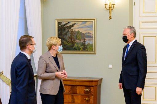 I. Šimonytė po prezidento pasisakymo apie skiepus: nematau didelės prasmės žongliruoti skaičiais