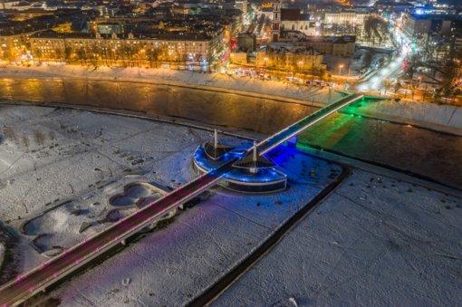 Pasaulinei retų ligų dienai paminėti Vilniuje nušvis trys Vilniaus tiltai