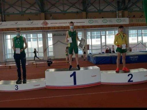 Švenčioniškis Erik Černiavski – dukart Lietuvos jaunių lengvosios atletikos čempionas