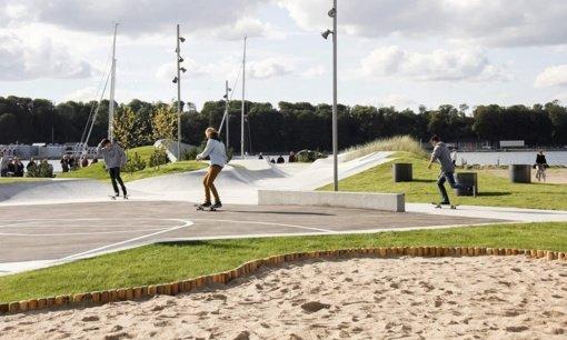 """Dar viena gera žinia: Raseiniuose bus įrengtas """"Skate"""" parkas"""