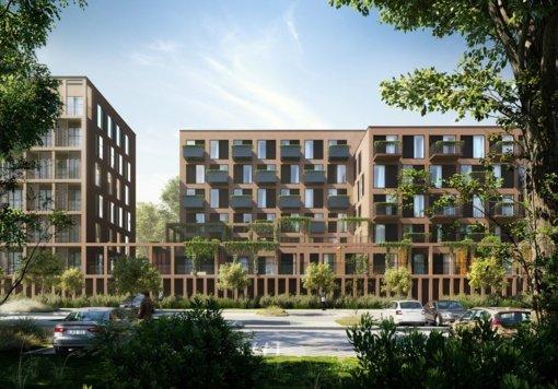 Justiniškių senbuvių kaimynystėje planuojamas daugiabučių kvartalas