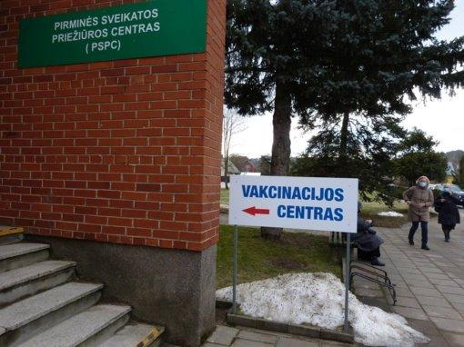 Anykščiuose pradėjo veikti vakcinacijos centras