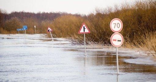 Belaukiant potvynio: pataria ištuštinti rūsius ir pasiruošti neperšlampamą aprangą