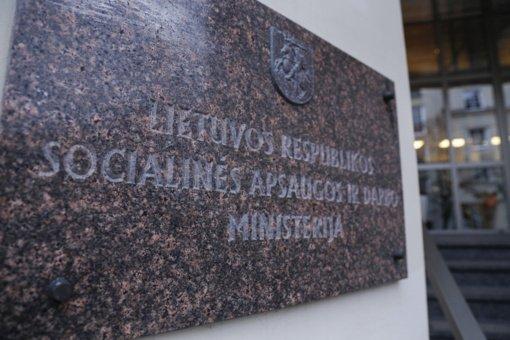 Vyriausybė svarstys, ar skirti papildomą socialinės apsaugos ir darbo viceministrą