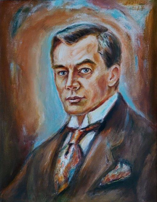 Kajetonas Sklėrius - neregėto akvarelės skaidrumo meistras