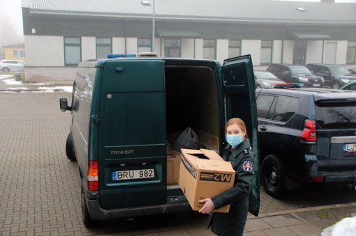 Baigėsi Vilniaus pasienio rinktinės aukojimo akcija: geri darbai neišmatuojami
