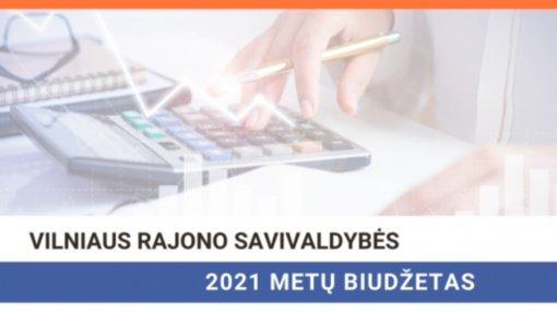 Patvirtintas Vilniaus rajono 2021 metų biudžetas