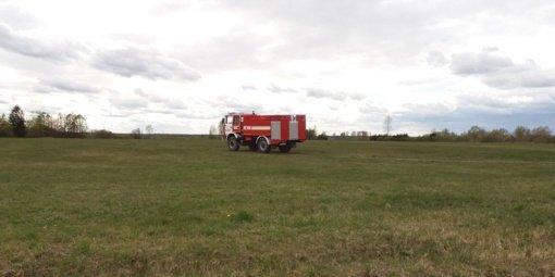 Kėdainių rajone jau degė pernykštė žolė