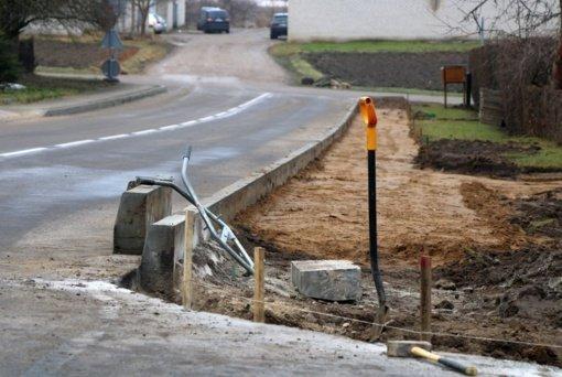 Pasibaigus žiemai Marijampolėje imamasi infrastruktūros tvarkymo ir gerinimo darbų