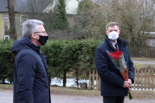 Pareigas pradėjo eiti naujasis Jurbarko rajono tarnybos viršininkas Vaidas Vaičiukynas