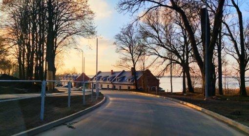 Taryba pritarė dviračių ir riedučių trasos įrengimui ir Poilsio gatvės kraštovaizdžio sutvarkymui