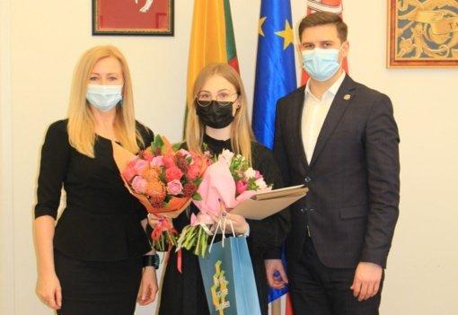 """""""Metų specialistė 2020"""" – Gema Nairanauskaitė"""