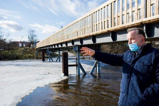 Stichinė bėda – potvynis Panevėžio rajoną aplenkė