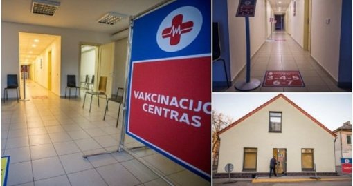 Klaipėdoje atidarytas naujas vakcinacijos centras