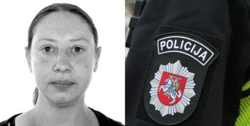 Ieškoma Kauno rajone iš namų išėjusi ir negrįžusi moteris
