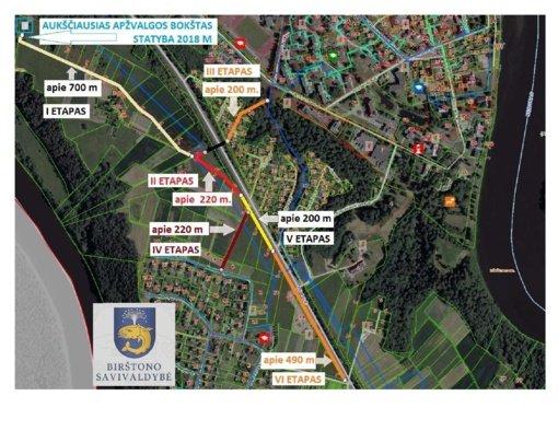 Birštone  netrukus prasidės pėsčiųjų ir dviračių viaduko statybos