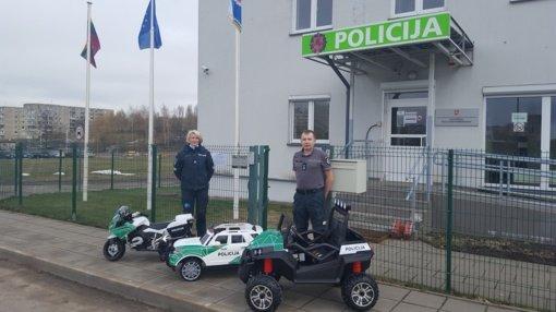 Komisariate įrenginėjama saugaus eismo klasė