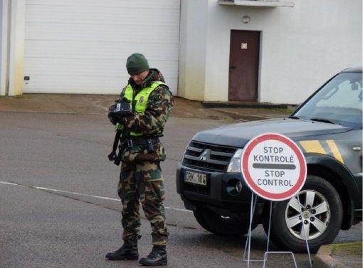 Klastotę Kalvarijos pasieniečiams pateikęs baltarusis suimtas mėnesiui