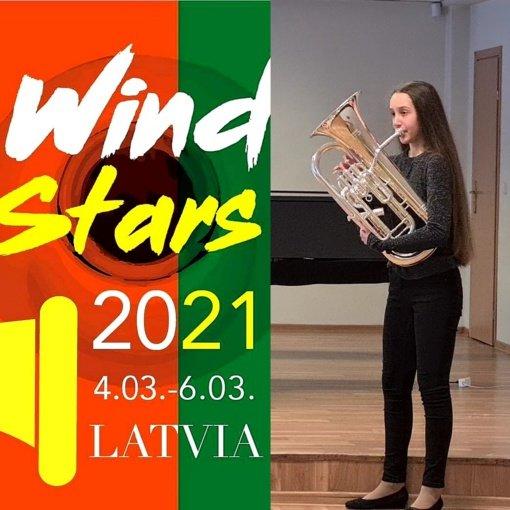Šiaulių miesto Dainų muzikos mokyklos mokinių sėkmė tarptautiniame konkurse