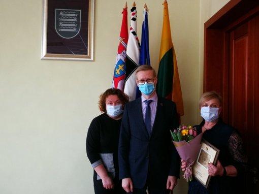 Apdovanotas geriausias Kaišiadorių rajono visuomenės sveikatos specialistas