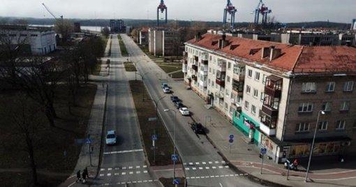 Uosto ir miesto požiūris į Nemuno gatvę skiriasi