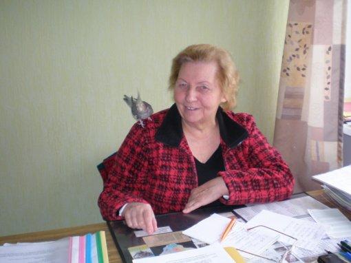 """Jubiliejinį pavasarį pasitinka neįgaliųjų klubo """"Dalia"""" pirmininkė Irena Jatkauskienė"""