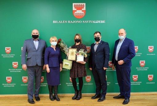 Apdovanota geriausia Šilalės rajono savivaldybės visuomenės sveikatos specialistė