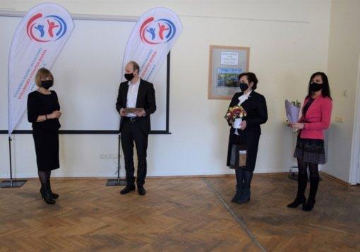 2020 metų specialistės apdovanojimas – Janei Kavaliauskienei iš Vilkaviškio rajono savivaldybės visuomenės sveikatos biuro