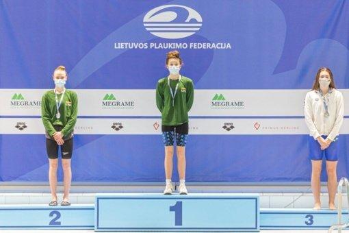 Baltijos šalių plaukimo čempionato nugalėtojais tapo lietuviai