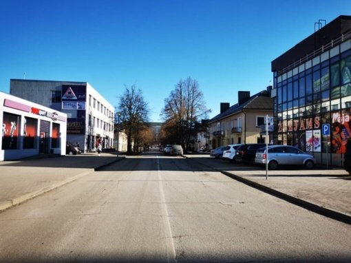 Kitą savaitę pradedamas dalies Vasario 16-osios gatvės ir trijų sankryžų Radviliškio mieste remontas