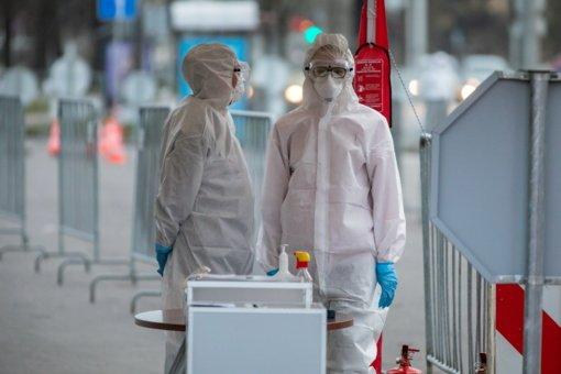 """Koronaviruso pandemija pasiekė """"kritinį tašką"""", perspėja PSO"""