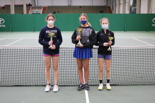 Šiaulietė Guoda Kubickaitė tapo vienetų ir dvejetų teniso turnyro vicečempione