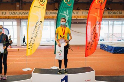 Pakruojietė bėgikė Ramunė Klybaitė tapo Lietuvos universitetų studentų čempionato nugalėtoja