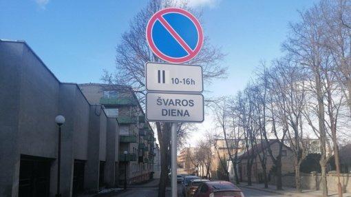 Šiaulių miesto gyventojų dėmesiui: miesto gatvėse – švaros dienos