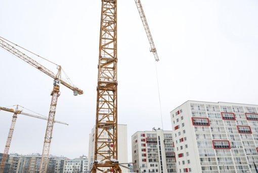 Rugpjūtį statybos darbų atlikta 4,5 proc. daugiau
