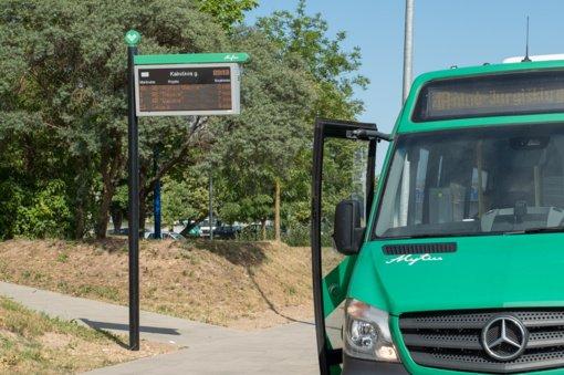 Nuo balandžio dalis autobusų kursuos visą darbo dieną bei šeštadieniais