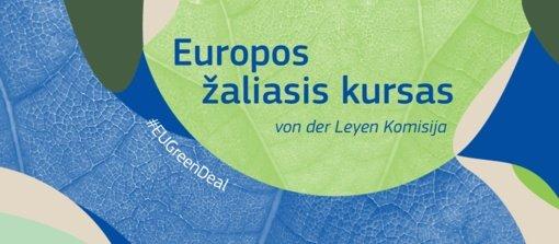 Žemės diena ir Europos Žaliasis kursas