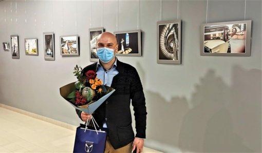 Akademijoje atidaryta fotografo Tomo Preikšos darbų paroda