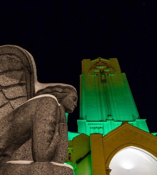 Šv. Juozapo diena Šiluvoje palydima šviesos ir muzikos garsų