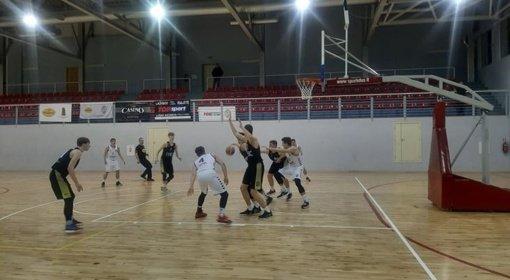 """Ignalinos """"Vilkakalnio"""" komanda baigė reguliarųjį sezoną"""