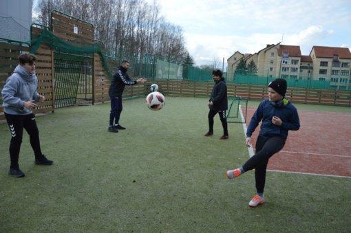 Treniruotės Birštono sporto centre nenutrūko ir pandemijos sąlygomis
