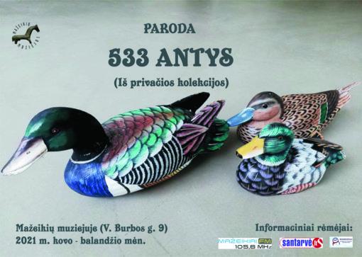 """Paroda """"533 antys"""""""