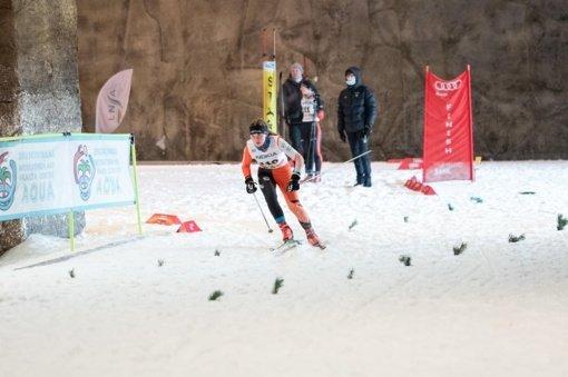 Anykščių slidininkai sėkmingai pasirodė čempionate Druskininkuose