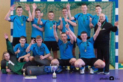 Širvintų SC vaikinai laimėjo aukso medalius